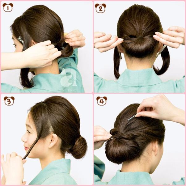 """Búi tóc sao cho khéo: Mách nước ngay 5 kiểu """"xiêu lòng chàng"""" từ nghệ nhân trang điểm tóc Nhật Bản hàng đầu - Ảnh 10."""