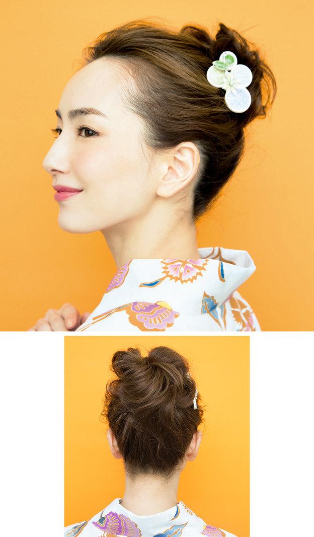 """Búi tóc sao cho khéo: Mách nước ngay 5 kiểu """"xiêu lòng chàng"""" từ nghệ nhân trang điểm tóc Nhật Bản hàng đầu - Ảnh 3."""
