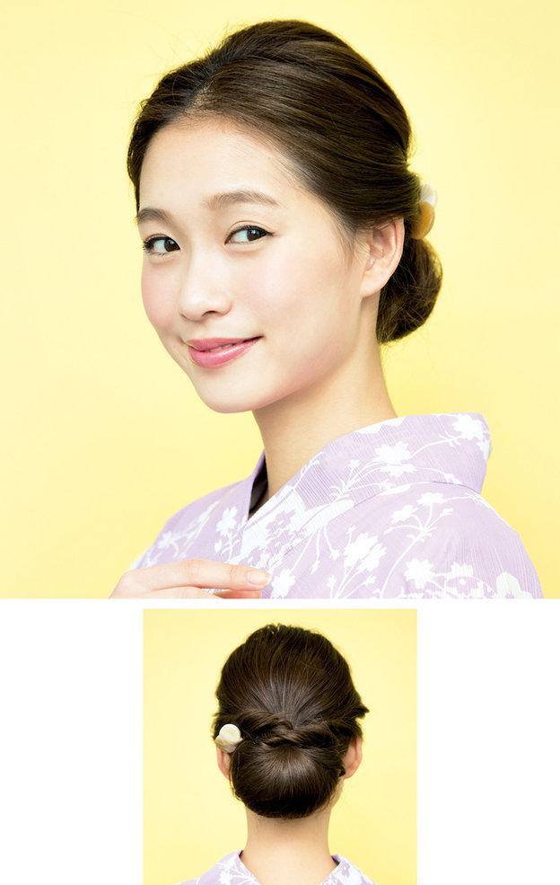 """Búi tóc sao cho khéo: Mách nước ngay 5 kiểu """"xiêu lòng chàng"""" từ nghệ nhân trang điểm tóc Nhật Bản hàng đầu - Ảnh 9."""