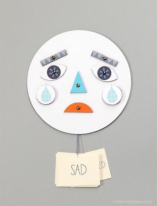 Dạy con về cảm xúc bằng chiếc mặt nạ biến hóa đơn giản mà thú vị - Ảnh 5.