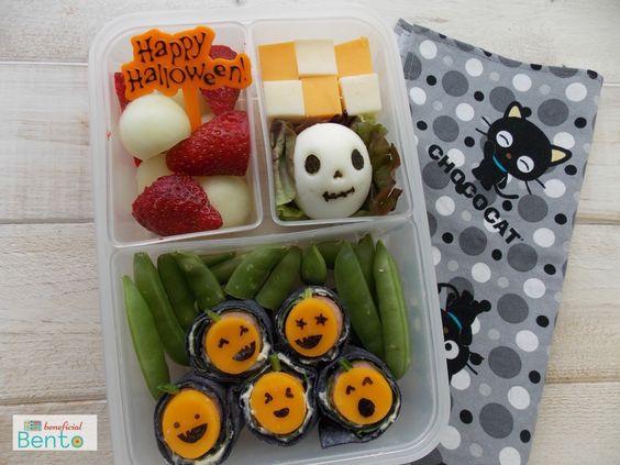Những hộp cơm bento cho trẻ theo chủ đề Halloween vô cùng đáng yêu - Ảnh 14.