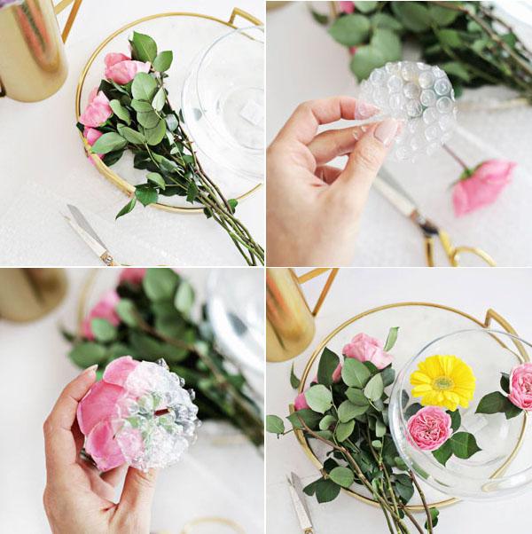 3 cách cắm hoa với sắc vàng đón hè rực nắng - Ảnh 1.