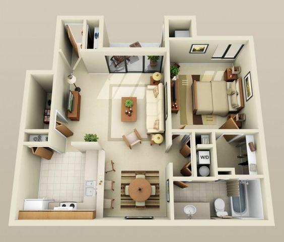 14 mẫu căn hộ một phòng ngủ không thể lý tưởng hơn cho người độc thân và vợ chồng trẻ - Ảnh 3.