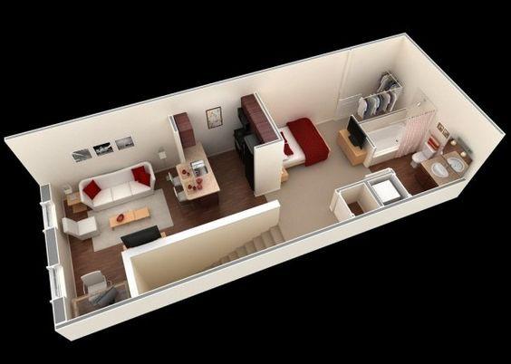 14 mẫu căn hộ một phòng ngủ không thể lý tưởng hơn cho người độc thân và vợ chồng trẻ - Ảnh 14.