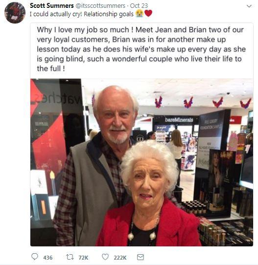 Ngày ngày hai vợ chồng này đều đến cửa hàng trang điểm và sự thật đằng sau khiến mọi người bật khóc - Ảnh 2.