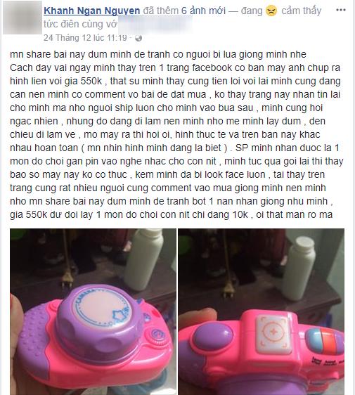 Cuối năm, hàng loạt chị em bức xúc vì đặt mua máy ảnh Hàn Quốc lại bị lừa rước về đồ chơi trẻ con - Ảnh 11.