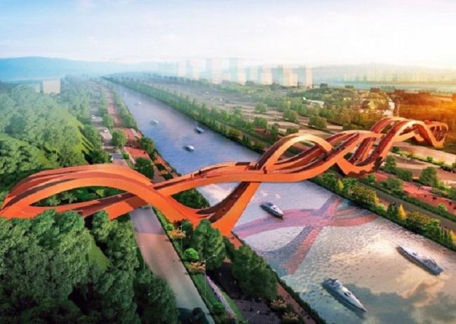 Chiêm ngưỡng những cây cầu độc đáo nhất thế giới - Ảnh 9.