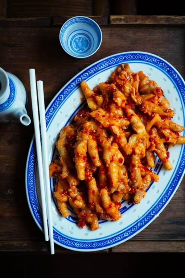 Chân gà trộn cay, món ăn vặt tuyệt ngon - Ảnh 5.