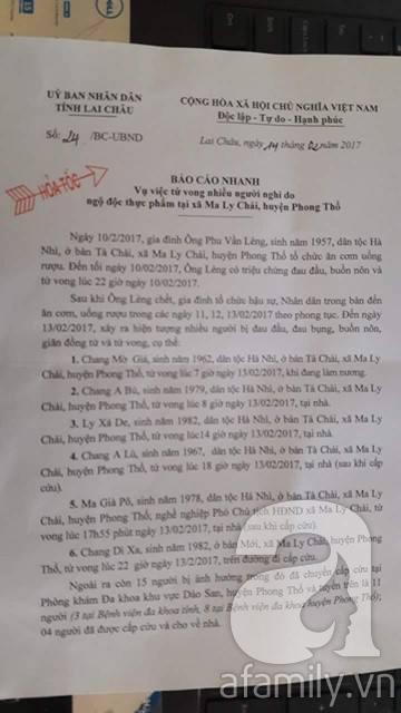 Lai Châu: 6 người chết, 11 người nguy kịch nghi bị ngộ độc thực phẩm khi ăn cỗ - Ảnh 1.