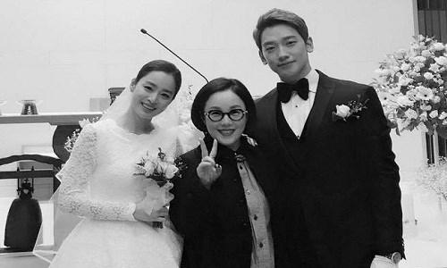 Đám cưới sao nữ hàng đầu Hàn Quốc, người rót tiền tỷ người chọn giản dị đơn sơ - Ảnh 3.