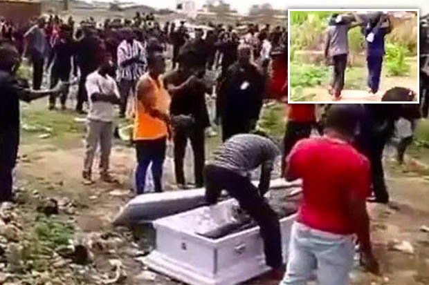 Nhóm người xông vào tang lễ bật nắp quan tài, cướp xác chết vì lý do không ai có thể ngờ - Ảnh 2.