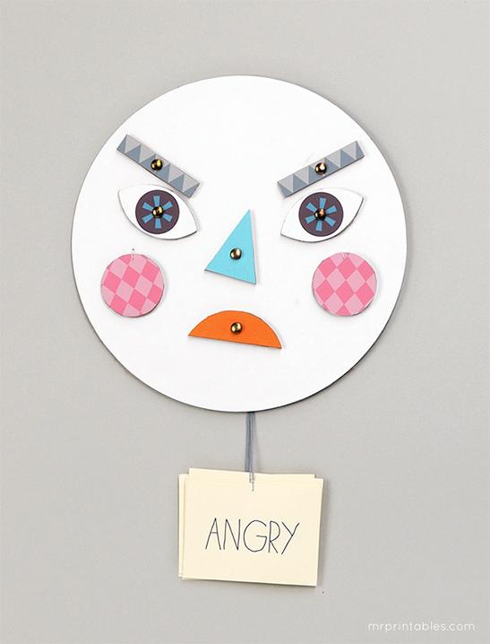 Dạy con về cảm xúc bằng chiếc mặt nạ biến hóa đơn giản mà thú vị - Ảnh 6.