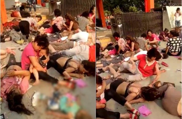 Trung Quốc: Nổ gần cổng nhà trẻ, 7 người chết trong đó có trẻ em - Ảnh 2.