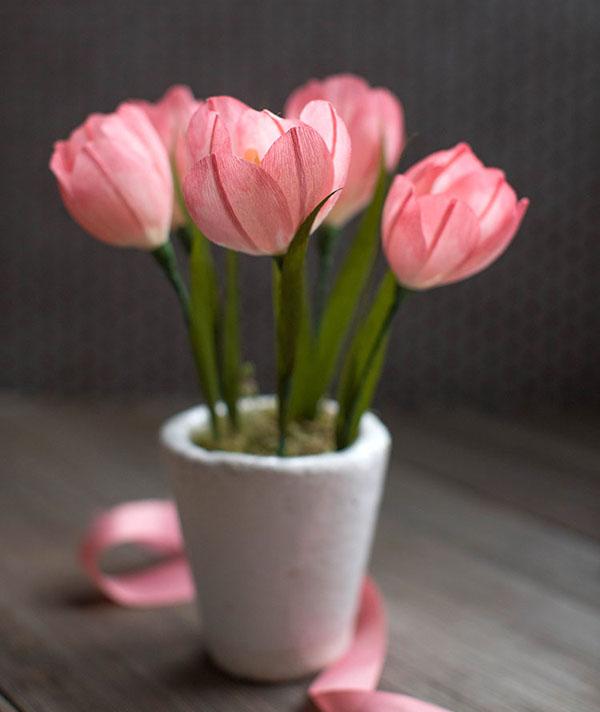 Trang trí nhà đẹp cùng 3 cách làm hoa giấy cực dễ - Ảnh 11.
