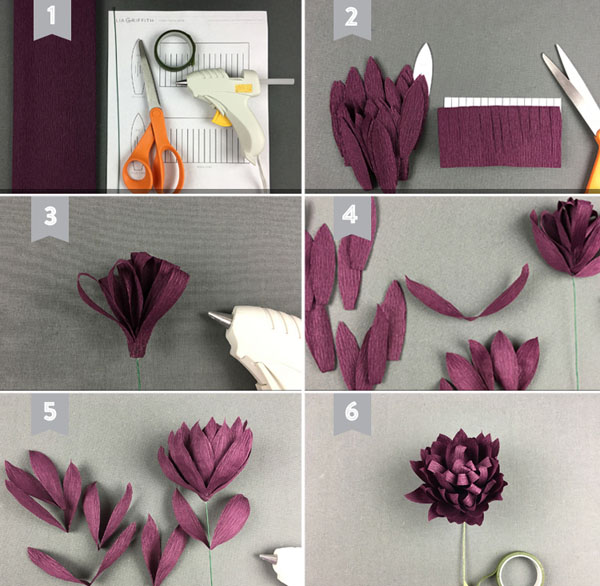 3 cách làm hoa giấy sắc màu trang trí đón Tết về - Ảnh 9.