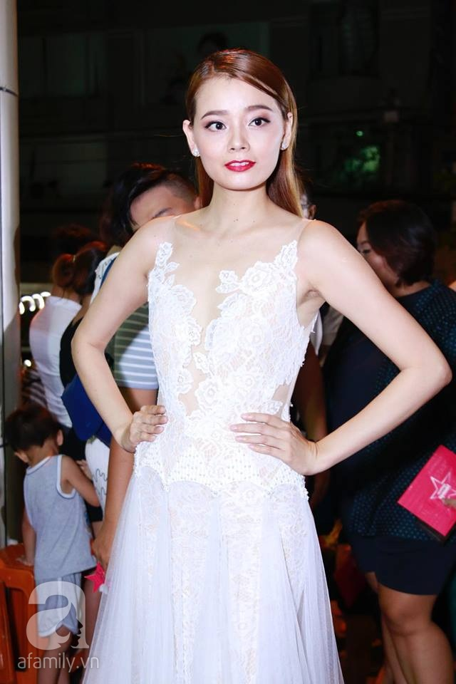 Võ Hoàng Yến mặc váy in chân dung chính mình trên thảm đỏ Next Top Model - Ảnh 18.