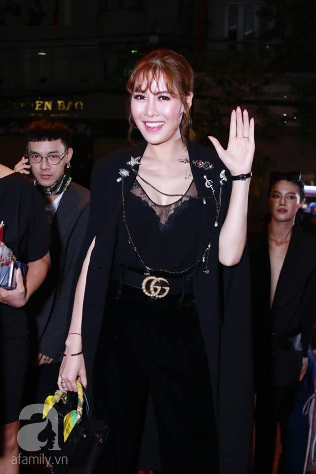 Võ Hoàng Yến mặc váy in chân dung chính mình trên thảm đỏ Next Top Model - Ảnh 11.
