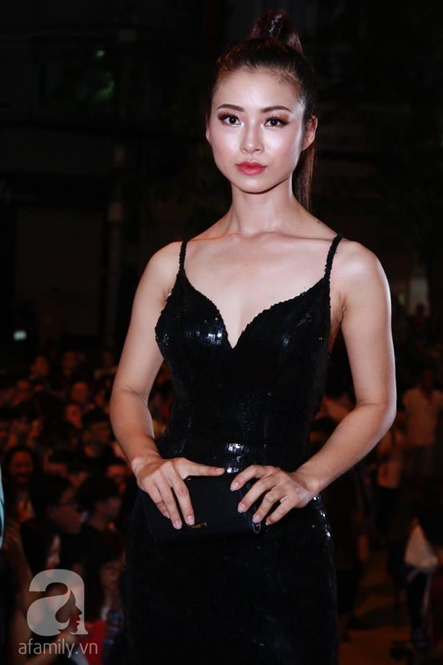 Võ Hoàng Yến mặc váy in chân dung chính mình trên thảm đỏ Next Top Model - Ảnh 16.