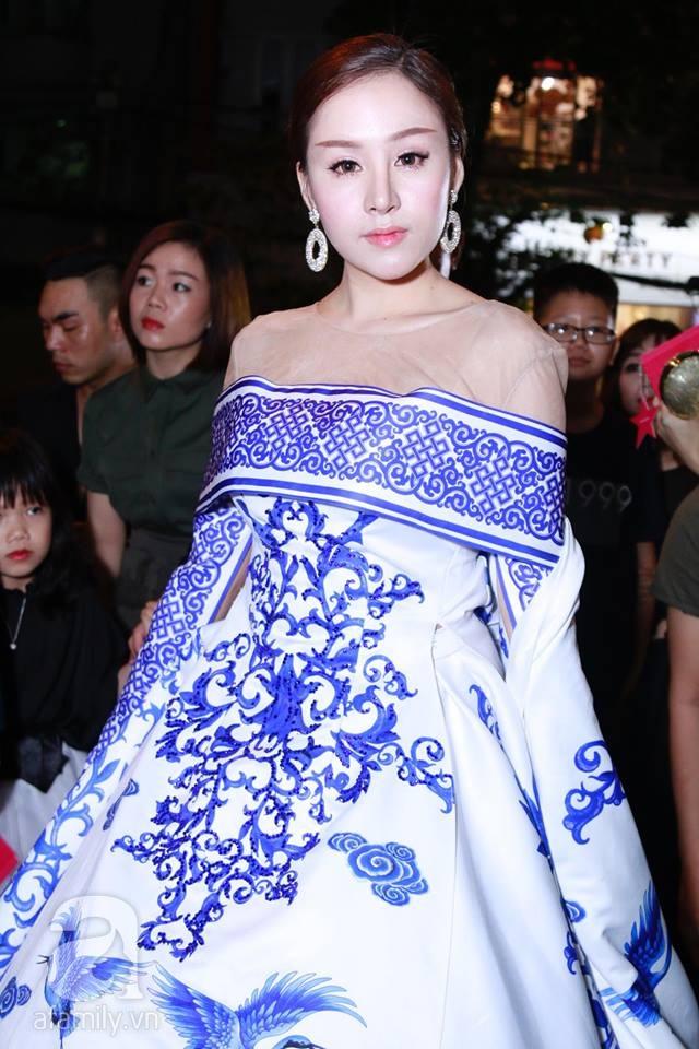 Võ Hoàng Yến mặc váy in chân dung chính mình trên thảm đỏ Next Top Model - Ảnh 17.
