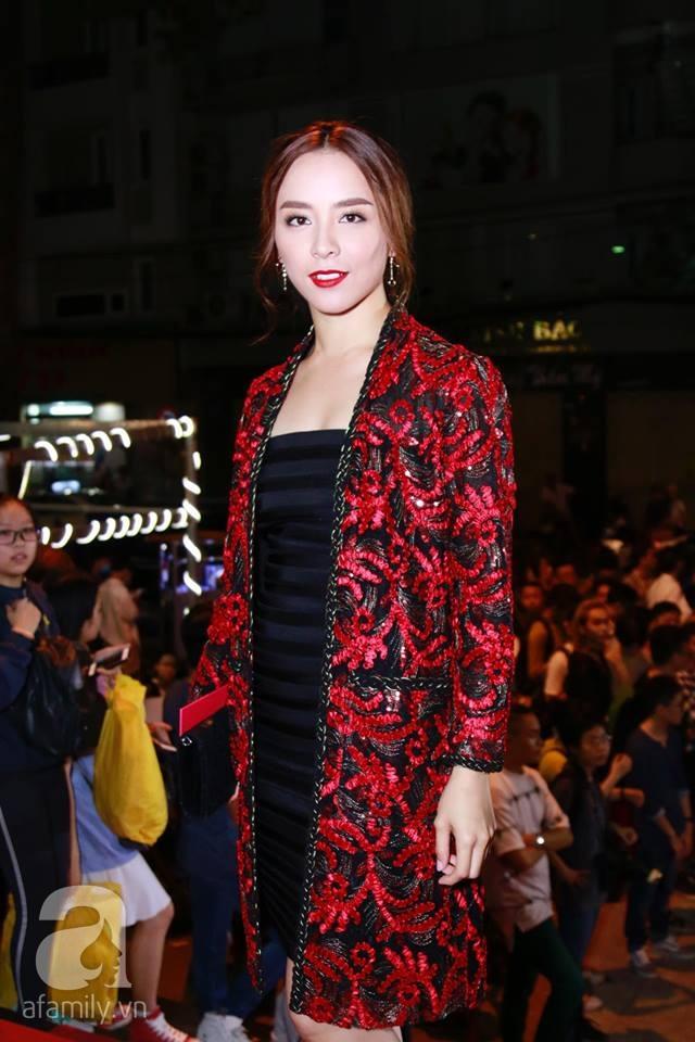 Võ Hoàng Yến mặc váy in chân dung chính mình trên thảm đỏ Next Top Model - Ảnh 7.