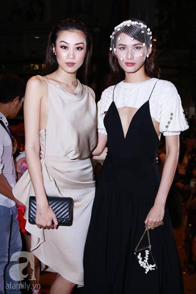 Võ Hoàng Yến mặc váy in chân dung chính mình trên thảm đỏ Next Top Model - Ảnh 20.