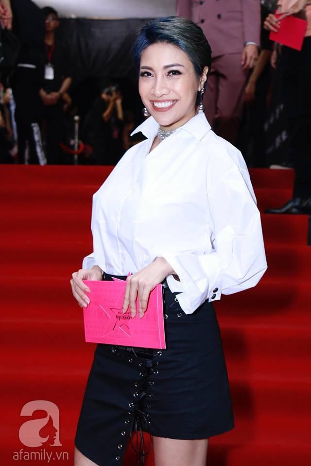 Võ Hoàng Yến mặc váy in chân dung chính mình trên thảm đỏ Next Top Model - Ảnh 22.