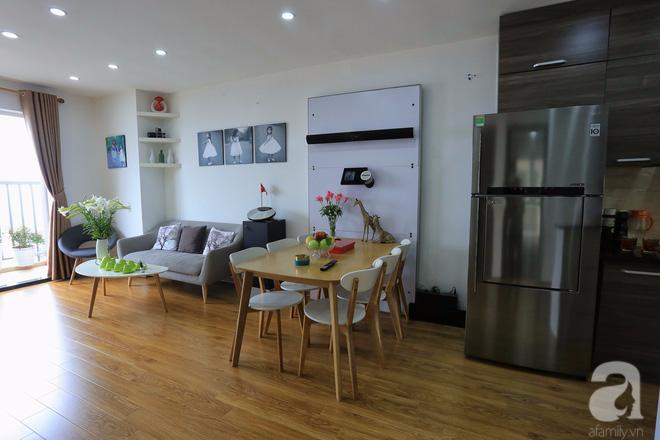 Chỉ vỏn vẹn 65m² nhưng căn hộ này cũng đủ để chủ nhân rời phố lớn ở trung tâm Hà Nội về ở chung cư - Ảnh 2.