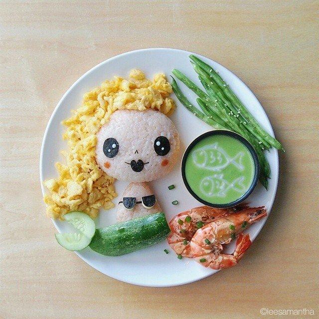 Bà mẹ khéo tay nhất năm biến những bữa ăn của con thành thế giới hoạt hình đầy màu sắc - Ảnh 2.