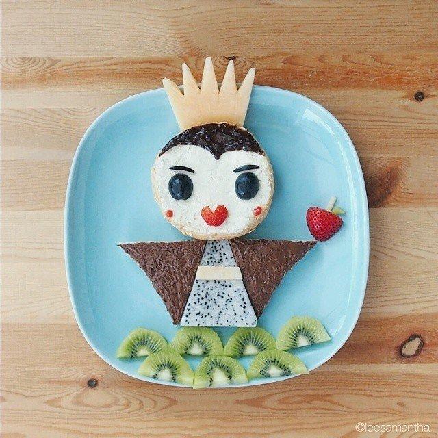 Bà mẹ khéo tay nhất năm biến những bữa ăn của con thành thế giới hoạt hình đầy màu sắc - Ảnh 10.