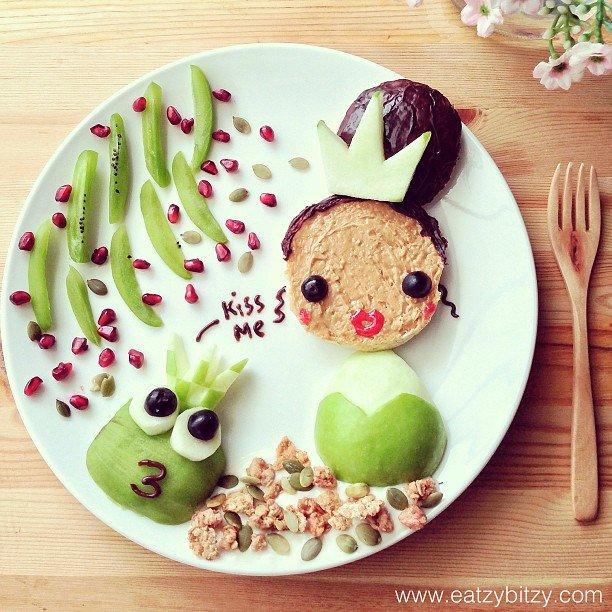 Bà mẹ khéo tay nhất năm biến những bữa ăn của con thành thế giới hoạt hình đầy màu sắc - Ảnh 20.