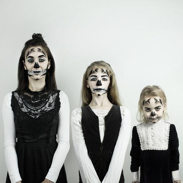 Có hai cô con gái, nhất định phải chụp ảnh bộ ba như thế này! - Ảnh 11.