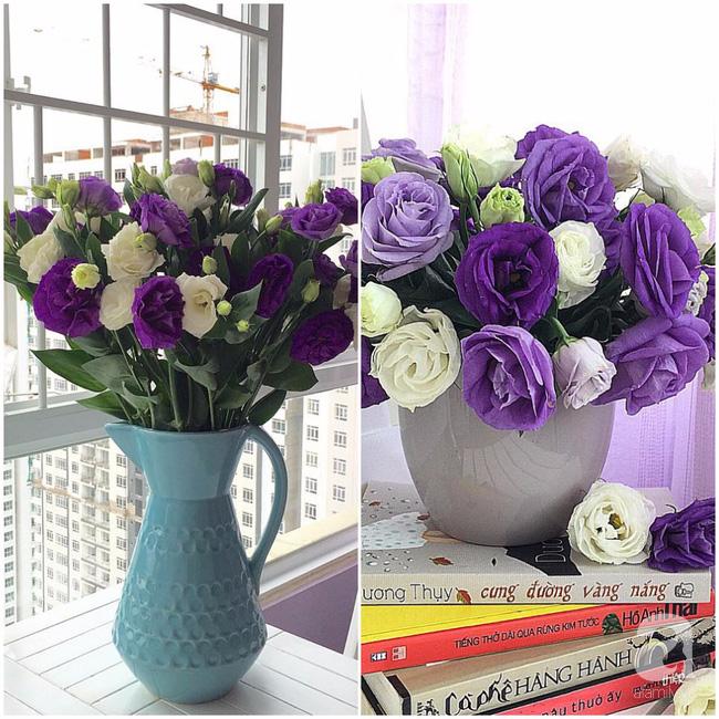 Ghé thăm căn hộ đẹp bình yên, trong trẻo đến lạ thường của người phụ nữ yêu hoa ở TP HCM - Ảnh 1.