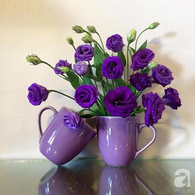 Ghé thăm căn hộ đẹp bình yên, trong trẻo đến lạ thường của người phụ nữ yêu hoa ở TP HCM - Ảnh 4.
