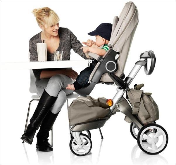 Stokke Xplory - Chiếc xe đẩy chạm đến mọi khát khao của các mẹ bỉm sữa - Ảnh 7.