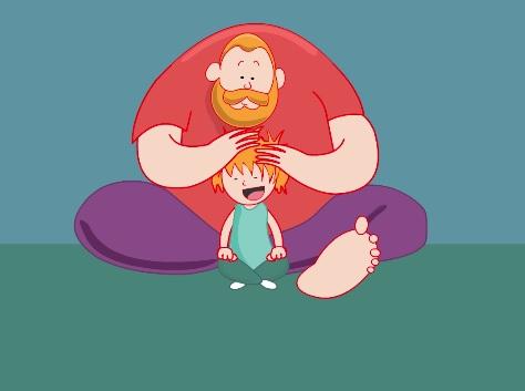Những khoảnh khắc ngọt lịm tim giữa bố và con gái lay động triệu trái tim - Ảnh 2.