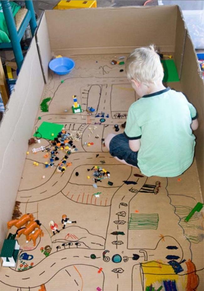 Mùa hè đến rồi, có cả kho trò chơi trong nhà cho bé thỏa sức sáng tạo - Ảnh 9.