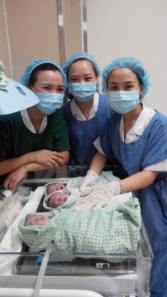 Bà mẹ 9X hồi hộp kể lại những nỗi sợ trong ca sinh ba cùng trứng cực hiếm gặp - Ảnh 5.