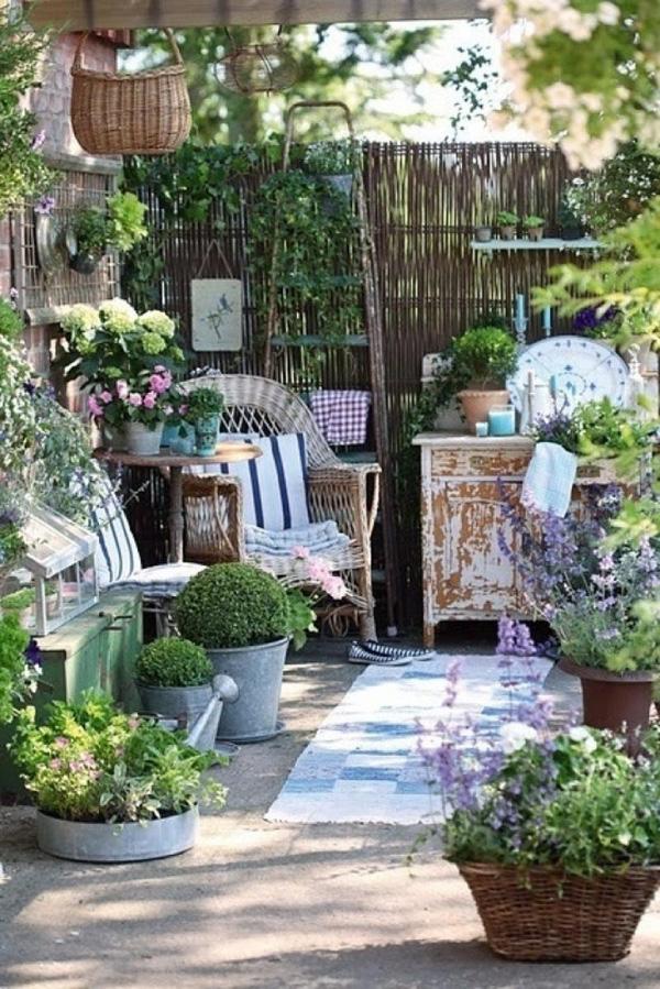 Làm đẹp sân vườn theo phong cách đồng quê nước Pháp siêu lãng mạn - Ảnh 4.