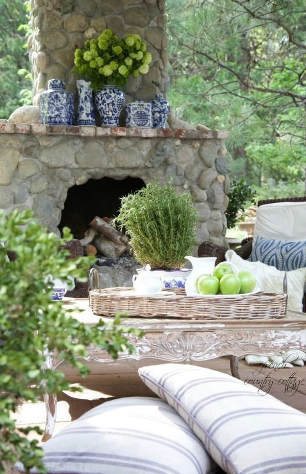 Làm đẹp sân vườn theo phong cách đồng quê nước Pháp siêu lãng mạn - Ảnh 5.