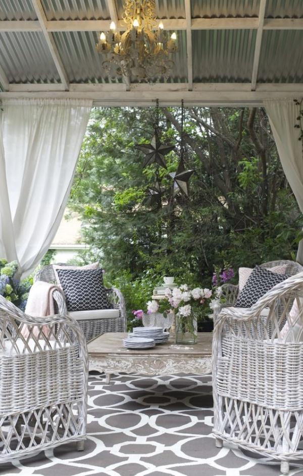 Làm đẹp sân vườn theo phong cách đồng quê nước Pháp siêu lãng mạn - Ảnh 9.