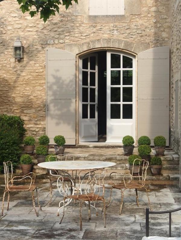 Làm đẹp sân vườn theo phong cách đồng quê nước Pháp siêu lãng mạn - Ảnh 14.