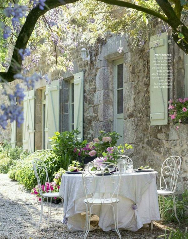 Làm đẹp sân vườn theo phong cách đồng quê nước Pháp siêu lãng mạn - Ảnh 15.