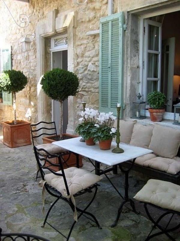 Làm đẹp sân vườn theo phong cách đồng quê nước Pháp siêu lãng mạn - Ảnh 16.