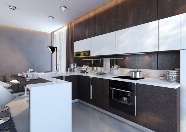19 ý tưởng trang trí tuyệt vời cho nhà bếp nhỏ trông rộng thênh thang - Ảnh 6.