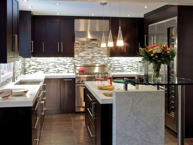 19 ý tưởng trang trí tuyệt vời cho nhà bếp nhỏ trông rộng thênh thang - Ảnh 7.