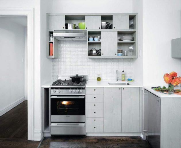 19 ý tưởng trang trí tuyệt vời cho nhà bếp nhỏ trông rộng thênh thang - Ảnh 13.