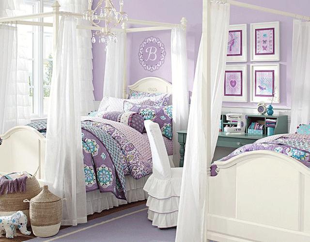 11 mẫu phòng ngủ nếu có con gái mẹ nhất định phải trang trí tặng bé - Ảnh 4.