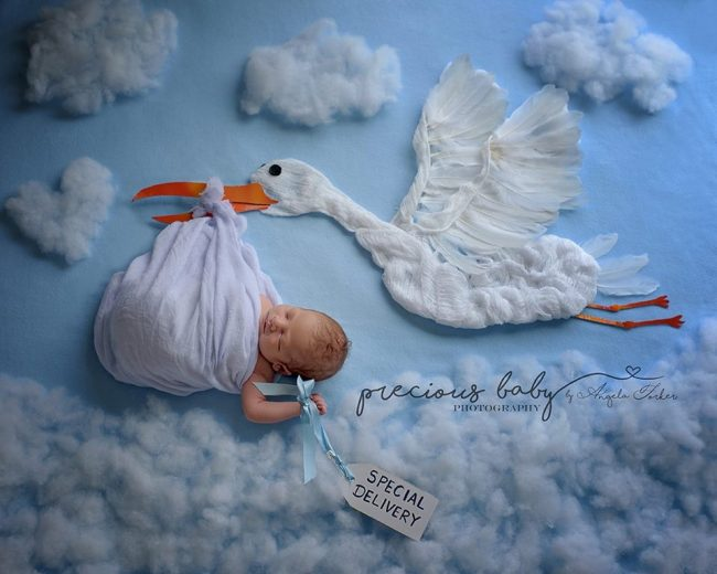 Nhiếp ảnh gia gợi ý những ý tưởng chụp ảnh cho bé sơ sinh không đụng hàng - Ảnh 3.