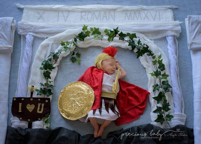 Nhiếp ảnh gia gợi ý những ý tưởng chụp ảnh cho bé sơ sinh không đụng hàng - Ảnh 5.