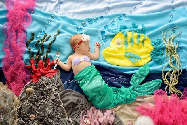 Nhiếp ảnh gia gợi ý những ý tưởng chụp ảnh cho bé sơ sinh không đụng hàng - Ảnh 10.